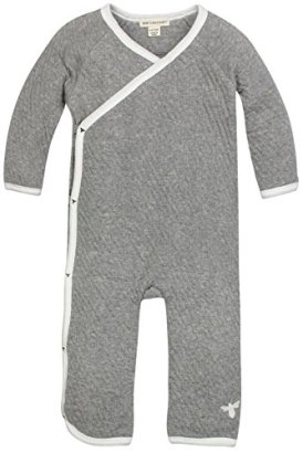 Burts-Bees-Baby-Baby-Quilted-Organic-Kimono-Coverall-Heather-Grey-0-3-Months