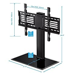 Fitueyes Universal TV Stand with Swivel mount for 32