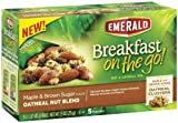 Emerald Breakfast on the Go! Maple and Brown Sugar Oatmeal Nut Blend, 7.5 Ounce