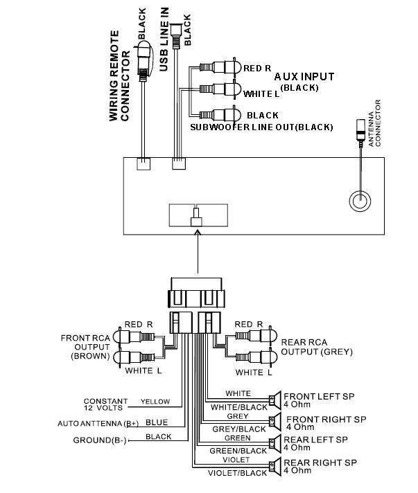 Boss Bv9560b Wiring Harness Boss Audio Replacement Harness Wiring