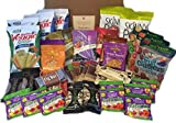 Non-GMO, Natural and Organic Healthy Snacks Care Package (40 Count)