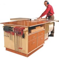 table saw outfeed table plans: Fine Woodworking Tablesaw ...