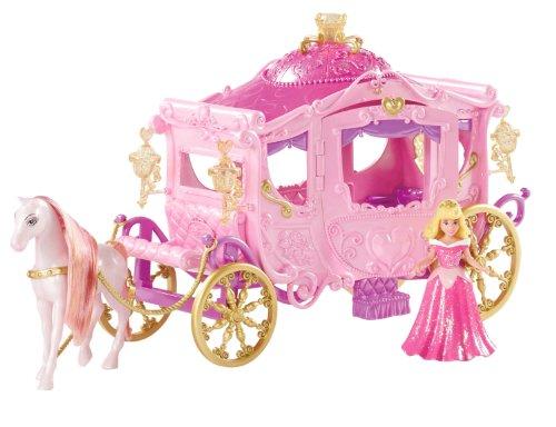 Mattel W5929 Principesse Disney set carrozza  Bambole