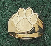 "Amazon.com: Clemson Tigers ""Paw"" 5/8"" Men's Ring Size 10 1"