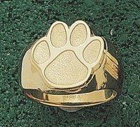 "Amazon.com: Clemson Tigers ""Paw"" 5/8"" Men's Ring Size 10 1 ..."