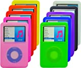 Silicone Skins Covers Cases for Apple iPOD Classic 160GB - Multiple colors