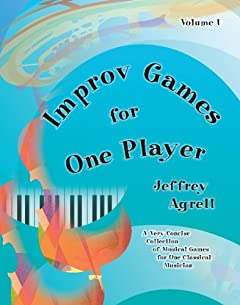 Improv Games for One Player Cover