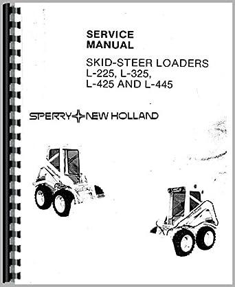 Amazon.com: New Holland L445 Skid Steer Service Manual
