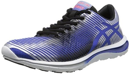 ASICS Men's GEL-Super J33 Running Shoe,Dazzling Blue/Black/Lightning,12 M US