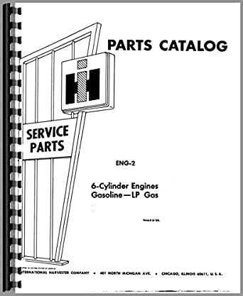 Galion 125P Crane IH Engine Parts Manual: Amazon.com
