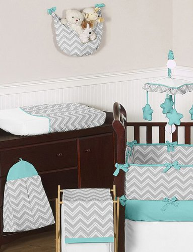 chevron baby bedding
