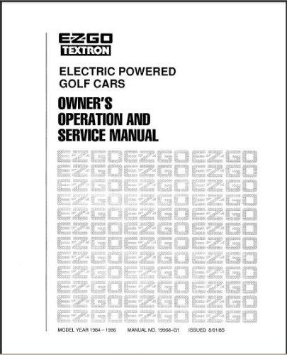 E-Z-GO Golf Equipment