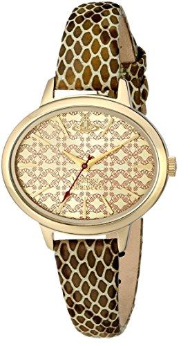 s vv102gdgd brondesbury analog display swiss quartz gold watch,vivienne westwood women,video review,(VIDEO Review) Vivienne Westwood Women's VV102GDGD Brondesbury Analog Display Swiss Quartz Gold Watch,