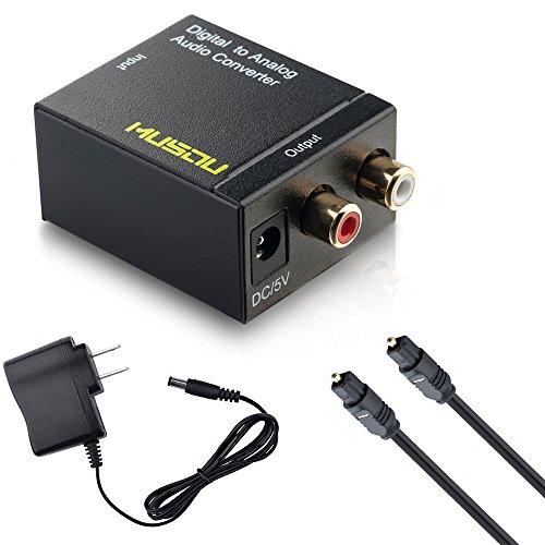 Optical Cable Coax Coaxial Toslink Rca R L Audio Converter Ebay