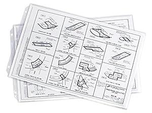 Amazon.com : 11x17 Sheet Protectors (Vinyl) : Office Products