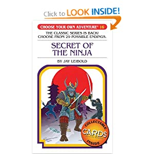 Choose Your Own Adventure #16 - Secret of the Ninja
