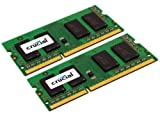 Crucial 16GB Kit (8GBx2) DDR3 1333 MT/s  (PC3-10600) CL9 SODIMM 204-Pin 1.35V/1.5V Notebook Memory Modules CT2KIT102464BF1339