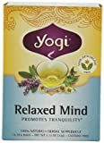 Yogi Relaxed Mind Tea, 16-Count Tea Bags (Pack of 6)