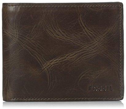 Fossil-Mens-RFID-Blocking-Derrick-Bifold-Wallet-with-Flip-ID