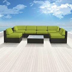 Lexmod Monterey Outdoor Wicker Rattan Sectional Sofa Set Chair Bed Genuine Luxxella Patio Reviews Top