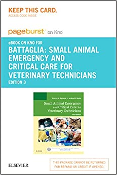 Small Animal Emergency and Critical Care for Veterinary Technicians  Elsevier eBook on Intel