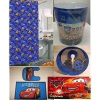 Amazon.com - 20 Pc Disney Cars Lightning Mcqueen Bathroom ...