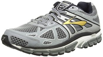 Brooks Men's Beast 14 Running Shoes (12 D(M) US, Silver/Black/Gold)