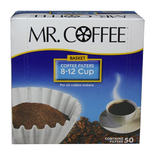 Mr Coffee Basket Coffee Filters 812 Cup White Paper 8