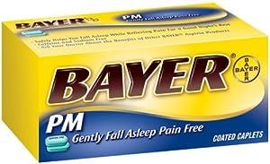 Amazon.com: Bayer Aspirin Pain Reliever/ Fever Reducer PM ...