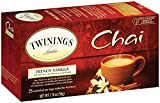 Twinings Chai Tea, French Vanilla, 25 Count