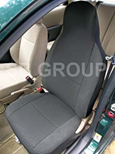 Vw Lupo, Jetta, Golf Mk 3, 4, 5 Anthracite Seat Covers 2