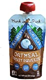 Munk Pack Oatmeal Fruit Squeeze Pouch, Blueberry Acai Flax, 4.2 oz, 6 Pack