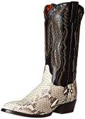 Dan Post Men's Omaha Western Boot, Natural, 12 XW US