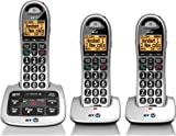 BT 4500 Cordless Big Button Phone with Answer Machine and Nuisance Call Blocker (Pack of 3)