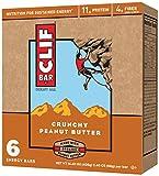 CLIF ENERGY BAR - Crunchy Peanut Butter - (2.4 oz, 6 Count)