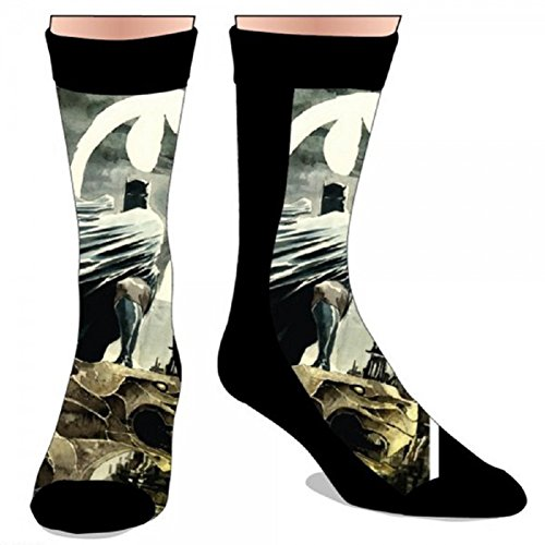 DC Comics Sublimation Print Batman Crew Socks