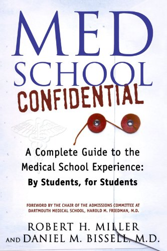Med School: Confidential Book