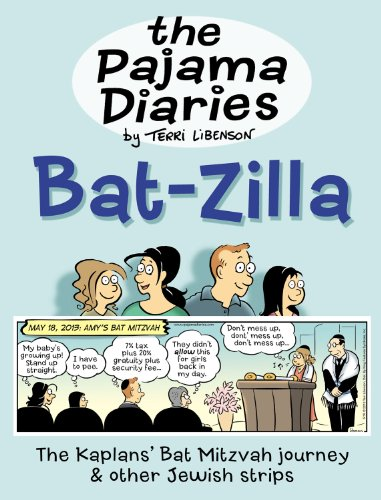 The Pajama Diaries: Bat-Zilla by Terri Libenson, Mr. Media Interviews