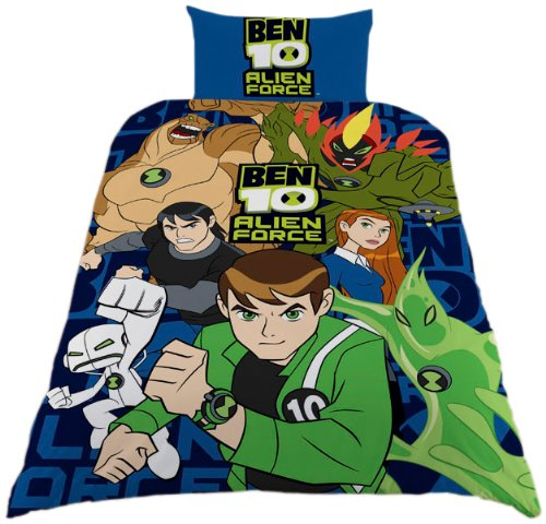 Zap Ben 10 Alien Force Duvet Set, Single