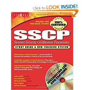 SSCP Study Guide and DVD Training System