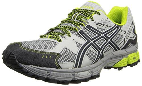ASICS Men's Gel-Kahana 7 Running Shoe,Vapor/Onyx/Lime,14 M US