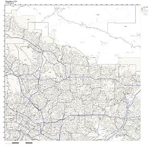 Amazon.com: Pasadena, CA ZIP Code Map Not Laminated: Home