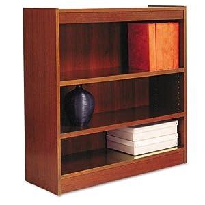 Amazoncom Alera Veneer Square Corner Bookcase