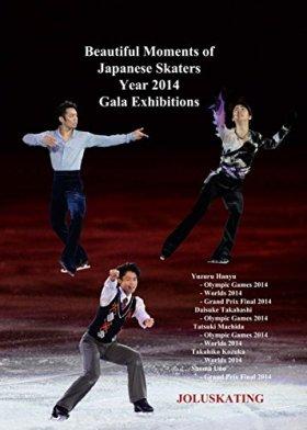 日本人スケーターの美しい瞬間. 祭りの展示. 2014年 Beautiful Moments of Japanese Skaters. Gala Exhibitions Year 2014