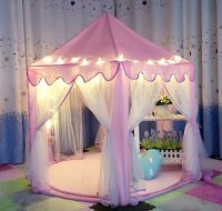IsPerfect Kids Indoor Princess Castle Play Tents,Outdoor