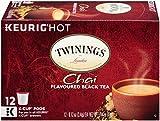 Twinings Chai Tea, Keurig K-Cups, 12 Count
