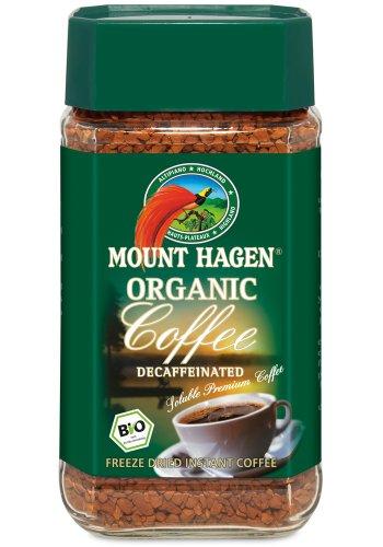 マウント ハーゲン カフェインレス インスタントコーヒー 100g