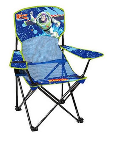 Disney Toy Story Toddler Camping Chair with Cup Holder and