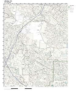 Amazon.com: ZIP Code Wall Map of Whittier, CA ZIP Code Map