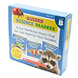 Scholastic Guided Science Readers Level B (16 Books, Activity Book & CD) スカラスティック サイエンス リーダーズB・CD付き
